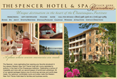 The Spencer Hotel.com screenshot