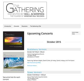 The Gathering Concerts